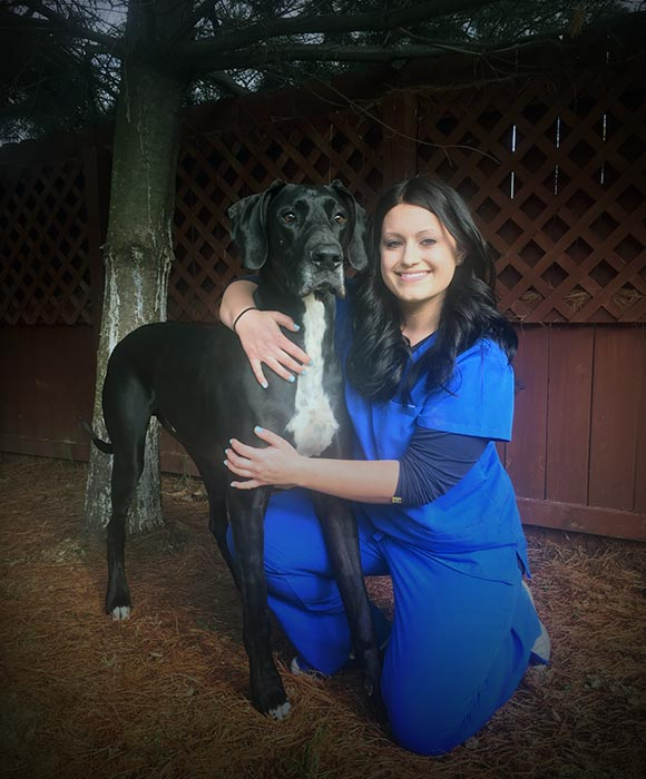 Emily Cottle Head Certified Veterinary Technician